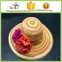 2016 hot selling high quality women sombrero straw hats