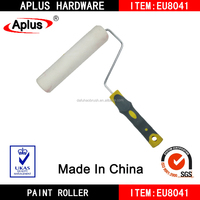 paint roller/long nap paint roller/paint corner roller with rubber handle
