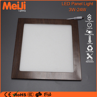 Mini solar panel for led light with wood grain 6w