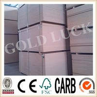 Qingdao GoldLuck Plain and Prelam Board Made of Wood Chip in Thikness 9 mm - 25 mm