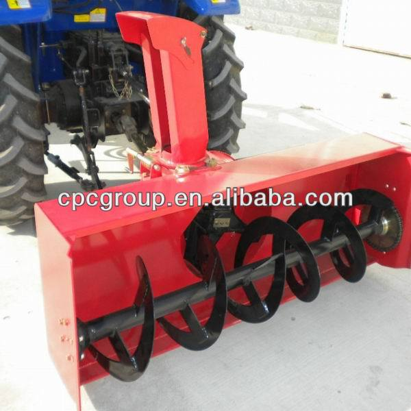 mini tractor snowblower
