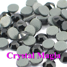 2015 ss20 Jet black rhinestone stone, loose garment accessory crystal beads