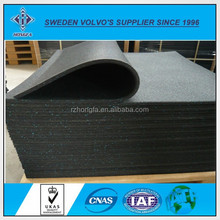 Hot Resistance Thin Rubber Mats for Basketball Coverage