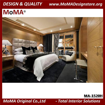 Ma 1520h Luxury Hotel Bedroom Furniture Wooden Queen Size
