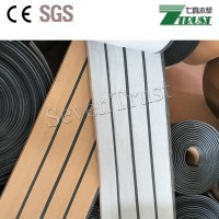 Shanghai China Marine Boat Yacht Synthetic Teak PVC 190*5mm Decking