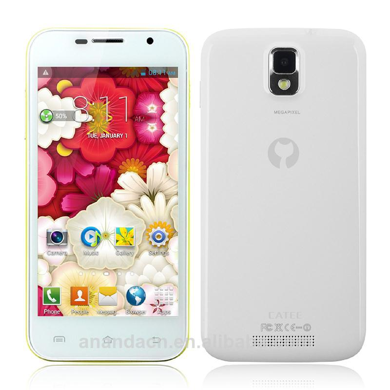 "catee ct100 4.5"" mobiles white orginal iocean phone x8 android mobile phone smart phones 6.44"""