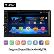 7inch capacitive screen GPS BT AUX WIFI 3G android radio car for universal