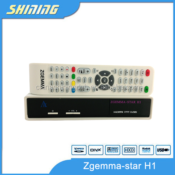 Samsat Hd dvb-s2+dvb-C Model Zgemma-star H1 twin tuner digital tv receiver