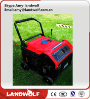 2016 hot selling air-cooled small gasoline generator for home use or camping use