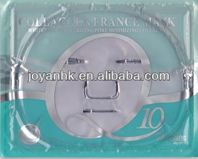 Q10 Collagen whitening and moisturizing facial mask