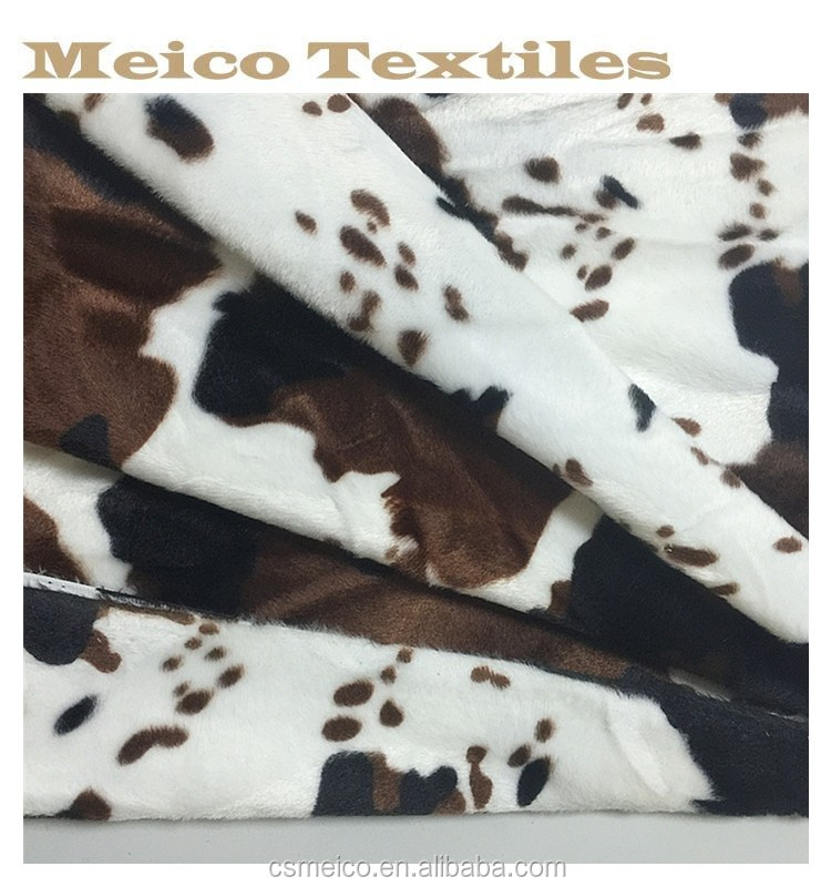 Classic spots printed cloth fabric