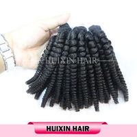 Mongolian kinky curly hair human hair weaving, after washing, you can get the afro kinky curly!