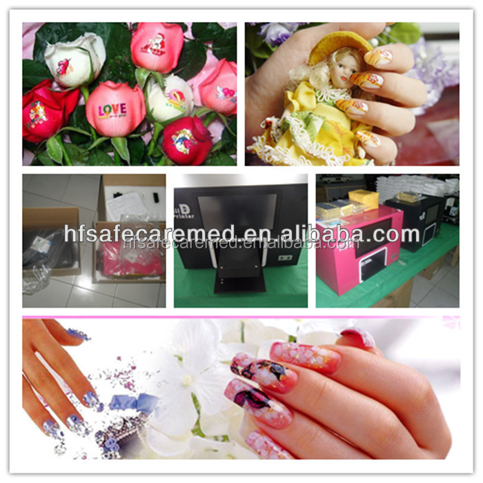 High Quality Colorful Flower Digital Artpro Nail Printer V7