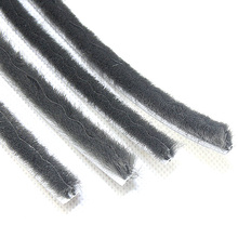 PP silicon wool pile weather strip weatherstripping