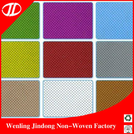 Foshan Colorful Pp Spunbonded Nonwoven Fabric In Stock 1.6m Width