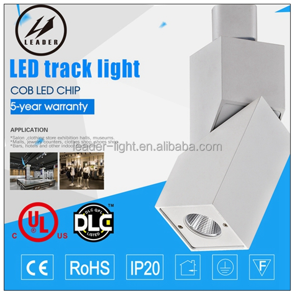 BRIDGELUX COB led track light can adjustable angle spotlight for Salon,clothing store