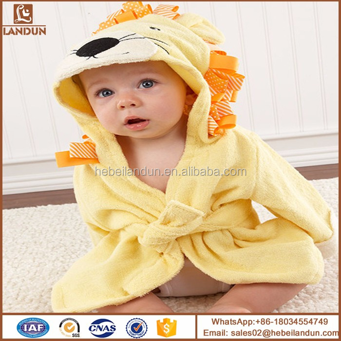 Textile home 75x75cm bamboo customized logo hooded towel baby