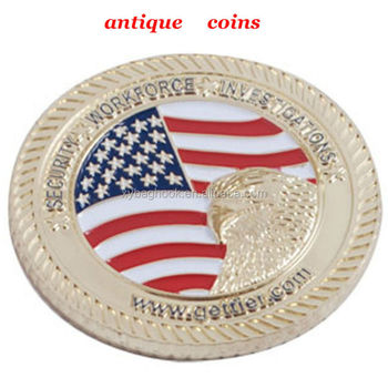 crazy selling silver coin replica with logo