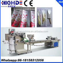 Disposable plastic cutlery wooden toothpick fully automatic packing machine suppliers