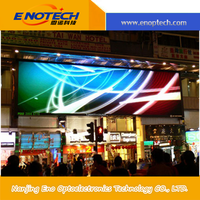 China high refresh led display outdoor P6.66 LED digital billboard