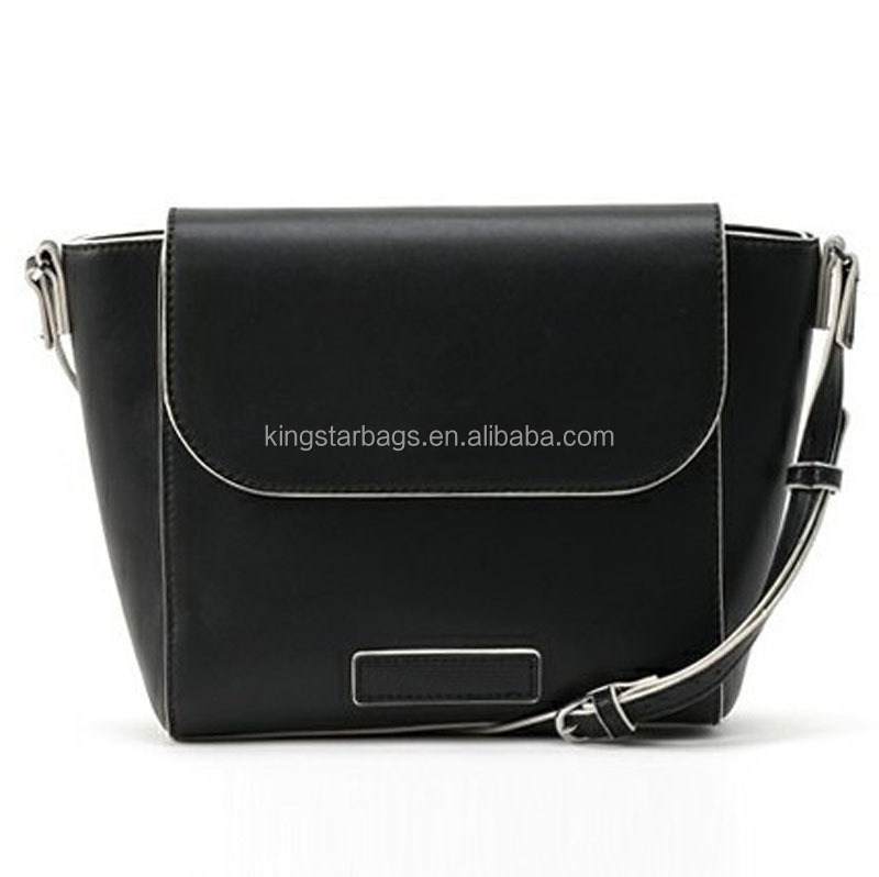 Black Leather Ladies Handbags