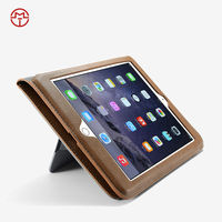 2015 CaseMe for ipad air 2 case, Made in China quality flip leather protective case for iPad 6 tablet case with band