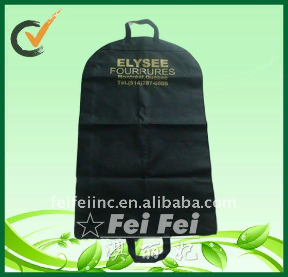 Hot sell non woven folding garment storage bag/ suit cover