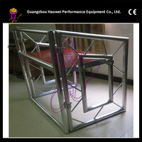Aluminum roof truss system with tent