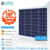High quality and low price 110w 120w 130w 140w solar panel polycrystalline price