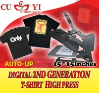CUYI 2ND GENERATION DIGITAL TSHIRT HIGH PRESS--AUTO UP
