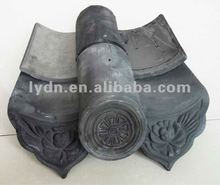 chinese style natural color roof tiles