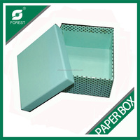 Plain design different sized cardboard sliding gift box with lid