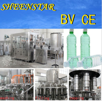3-in-1 Bottled mineral water / alkaline water filling machine