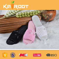 anti slip cheap wholesale fur latest design slipper sandal woman