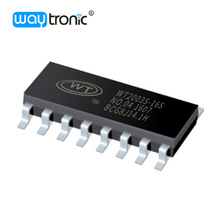 Voice programmable electronic mini MP3 IC chip for oil tank alarm
