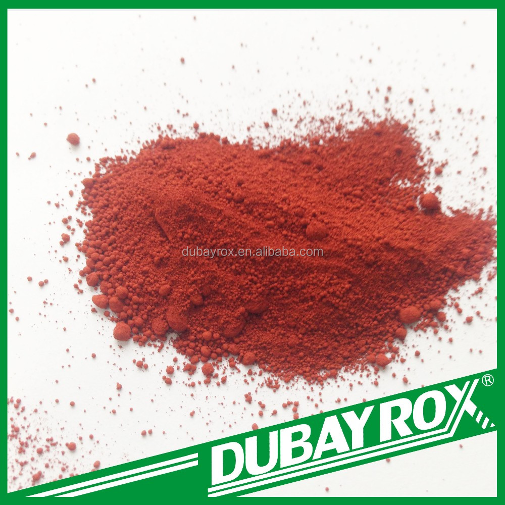 Top Sale Oxide Iron Red Pigment Fe2O3 for Porcelain