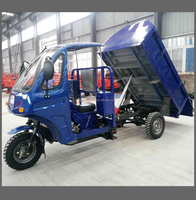 strong 3 wheel motorcycle with garbage tricycle box ,three wheeler 200cc with cargo cabin