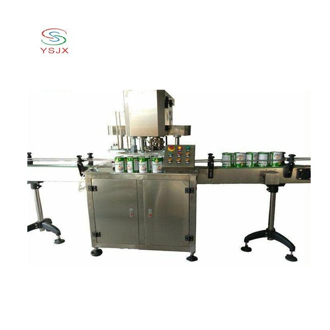 full automatic fruit can sealing machine food can sealer