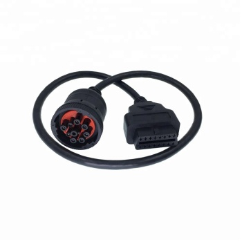 OEM j1939 to obd2 adapter deutsch cable