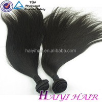 Thick End !!! Large Stock Factory Wholesale Virgin Straight Hair Shedding And Tangle Free Cheap
