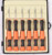 AK-9074 high grade 6pcs telecommunication screwdriver set