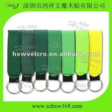 Neoprene key ring for promotion