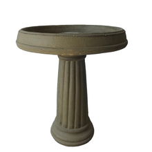 cement outdoor handmade garden bird bath hot sale