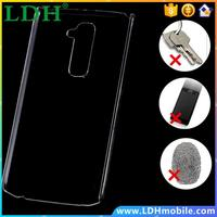 60pcs/lot Via DHL! Wholesale Clear Crystal Hard Case For LG G2 Optimus D801 F320 D802 VS980 F320K Ultra Thin Mobile Phone Cover
