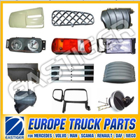 Over 300 items MAN/VOLVO/DAF truck body parts