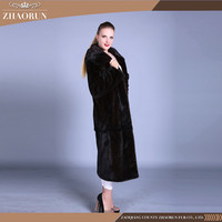 Gold Supplier China Mink Fur Coat Natural Mink Cashmere Coat