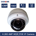 4 Megapixel H.265 IP Camera POE Vandalproof IP CCTC Camera System