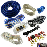 Car Audio System Blue 4GA Amplifier Wire Kit