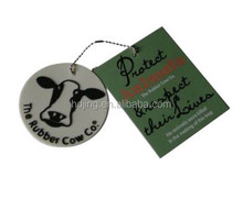 2017 High quality paper garment hang tags(A1-423)