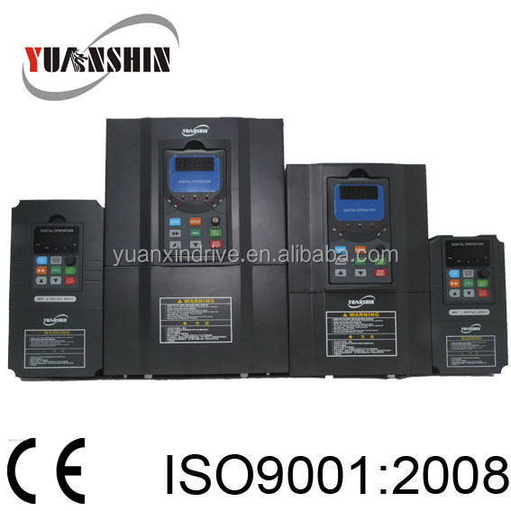AC Drive VFD /Frequency Inverter 0.75kw~550kw 3 phase vector control SVC 220v/380v frequency speed controller